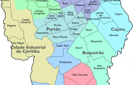 Bairros de Curitiba