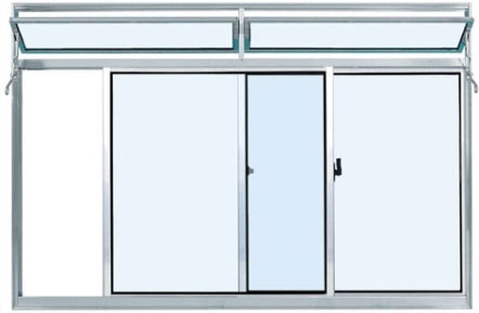 esquadria de aluminio para janela curitiba