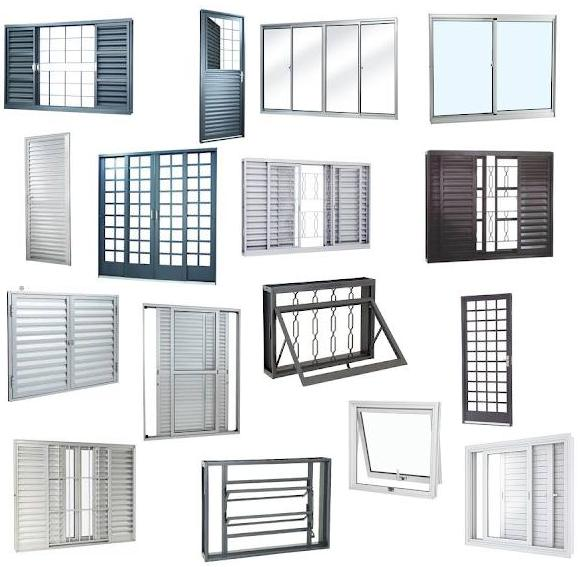 esquadrias de aluminio