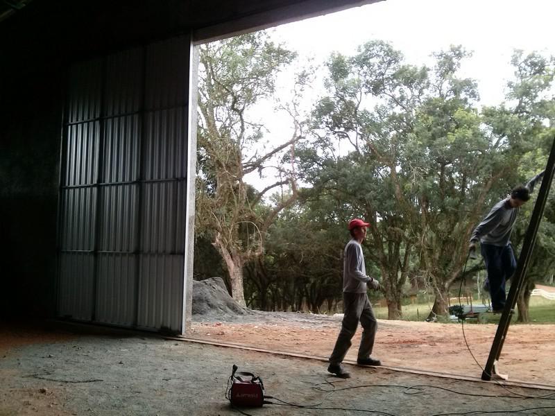 estrutura de ferro para barracoes em curitiba