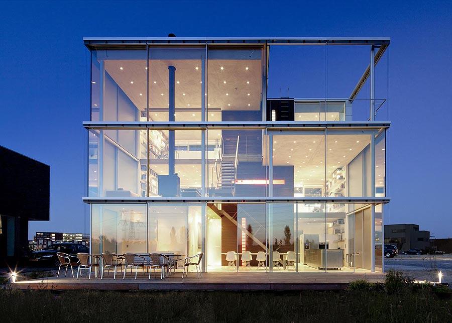 fachada de vidro curitiba