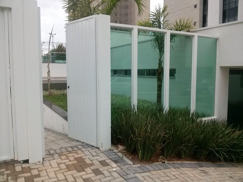 muro de vidro em curitiba