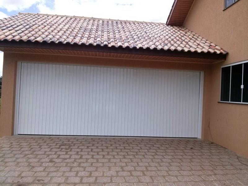 portão para garagem com controle automaticoi