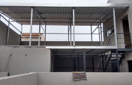 Mezanino residencial em Curitiba